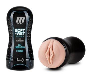 M for Men Soft & Wet Pussy w/ Pleasure Orbs - Vanilla