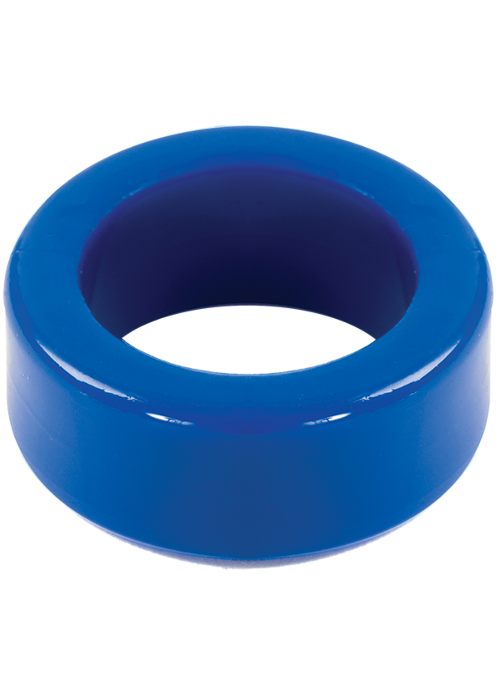 Doc Johnson TitanMen Tools- Stretch to Fit C-Ring- Blue