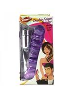 Frisky Double Finger Banger Vibrating G-Spot Glove
