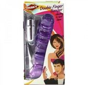 Frisky Double Finger Banger Vibrating G-Spot Glove