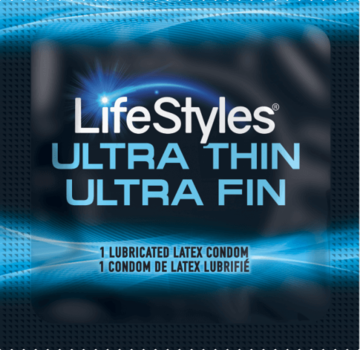 LifeStyles Ultra Thin Single Condom