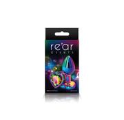 Rear Assets Multicolor Plug w/ Heart Gem