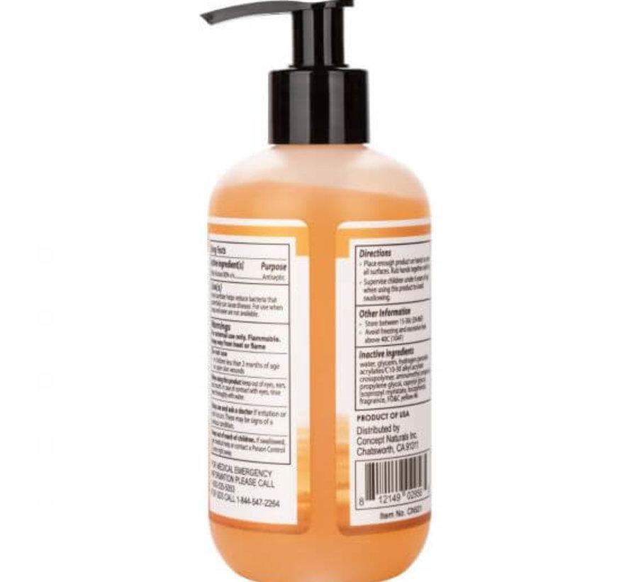 Hand Sanitizer Gel (70% Alcohol) 8 oz
