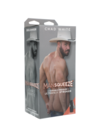 Main Squeeze Man Squeeze - Chad White - ULTRASKYN Stroker - Ass - Vanilla