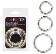 Cal Exotic Novelties Silver Ring Set