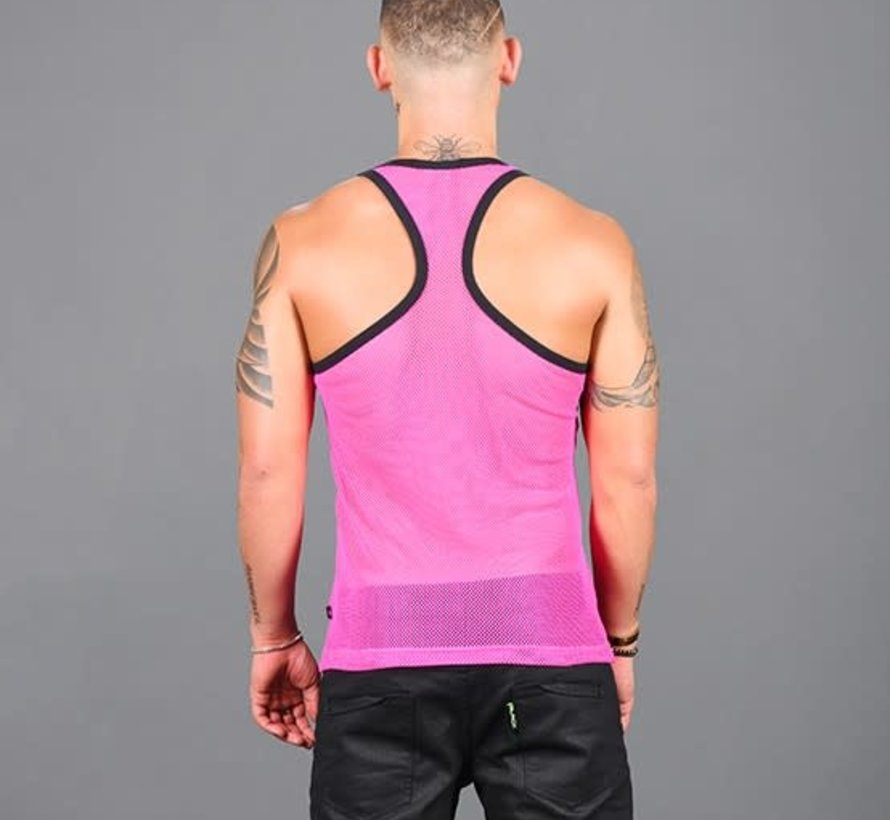 Club Mesh Racer Back Tank