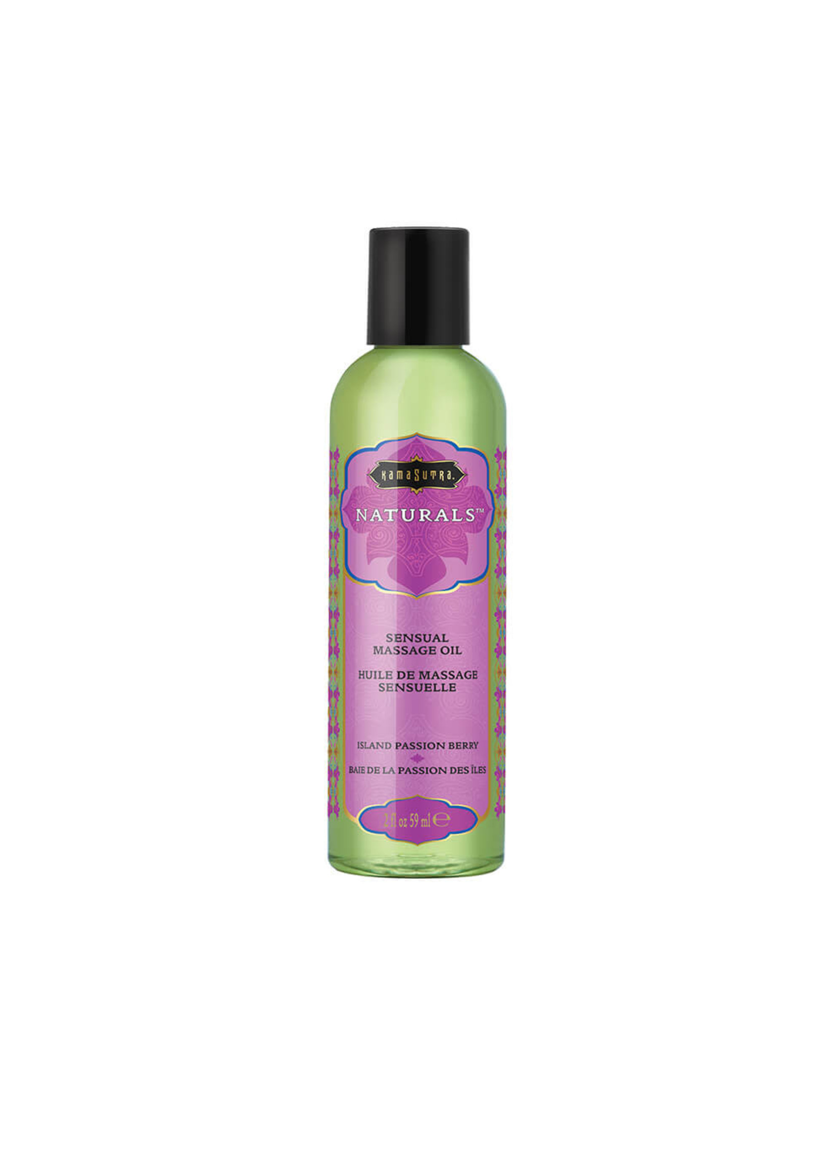 Kama Sutra Naturals Massage Oil 2 oz