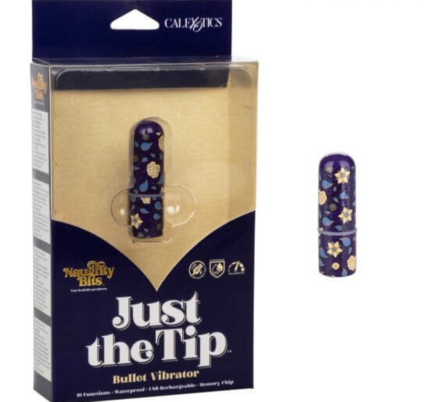 Naughty Bits Just The Tip Bullet Vibrator