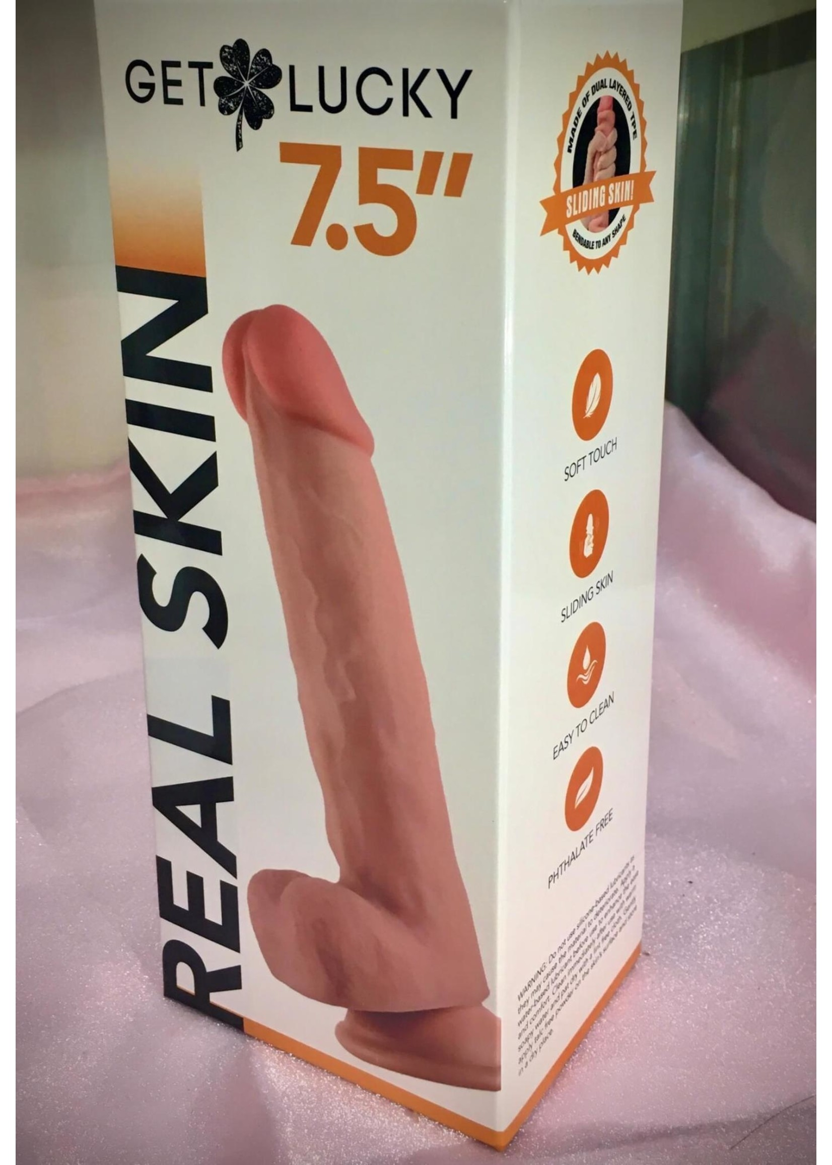 """Get Lucky 7.5"""" Real Skin"""