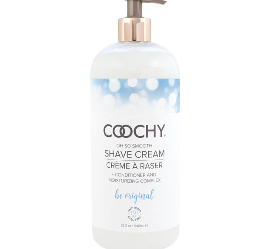Coochy Shave Cream-Be Original 32oz