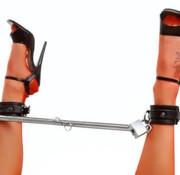 XR Brands Adjustable Steel Spreader Bar