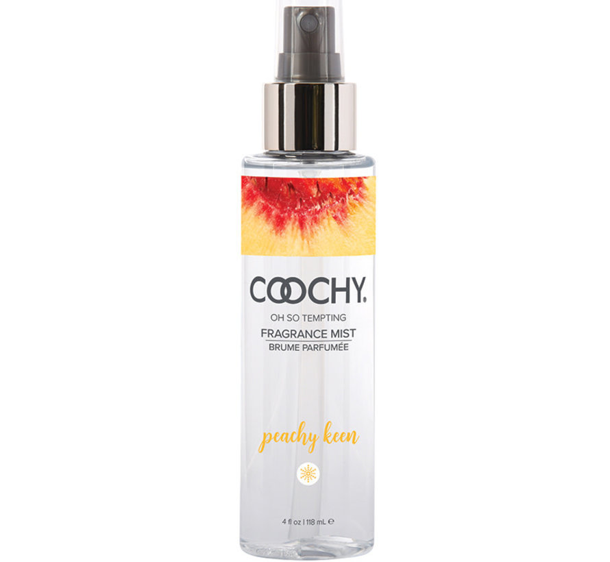 Coochy Fragrance Body Mist-Peachy Keen 4oz