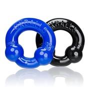 Oxballs Ultraballs C-ring 2 pack Black & Blue