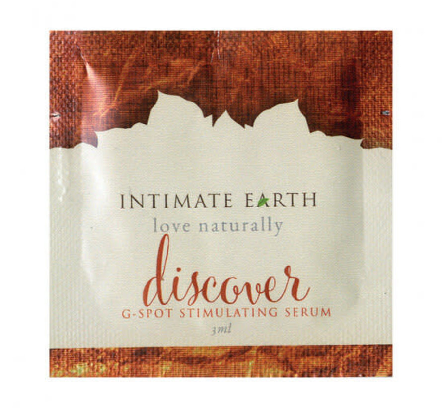 Intimate Earth Discover G Spot Foil single packet