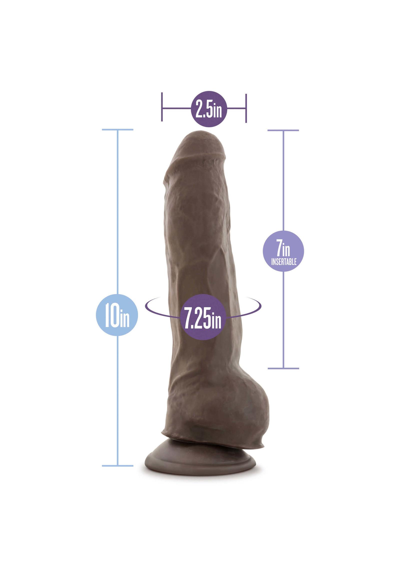 Blush Novelties Au Naturel - Big Boy - Chocolate