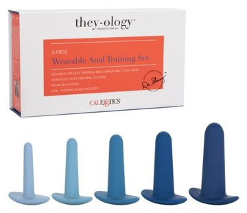 They-ology 5-Piece Wearable Anal Training Set