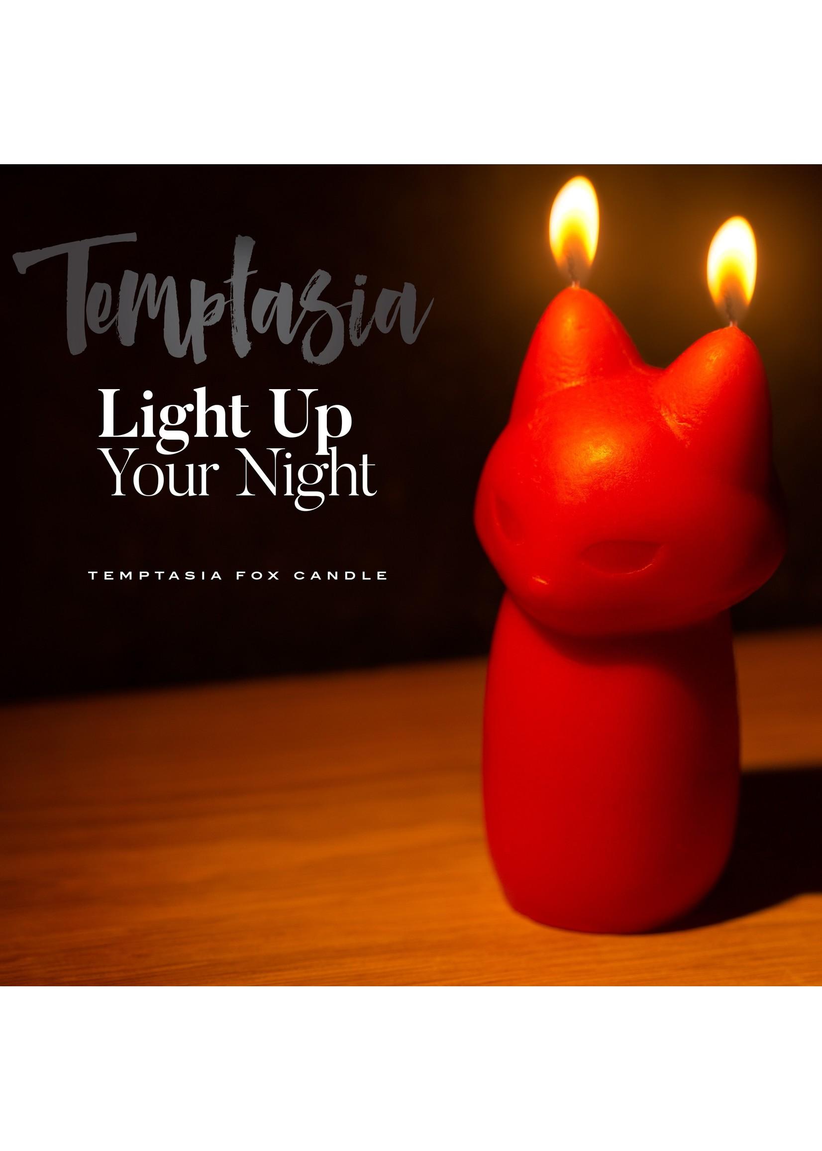 Temptasia - Fox Drip Candle - Red