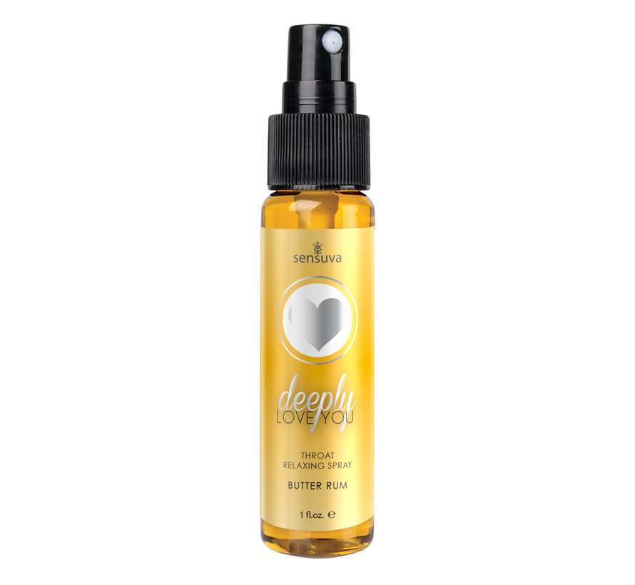 Deeply Love You Butter Rum Throat Relaxing Spray 1 oz.