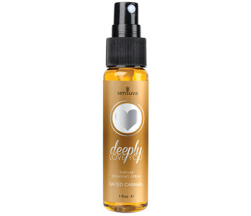Sensuva Deeply Love You Salted Caramel Throat Relaxing Spray 1 oz.