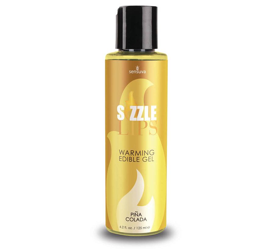 Sizzle Lips Piña Colada Warming Gel 4.2 oz.