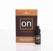 Sensuva ON for Her Arousal Oil Chocolate 5 ml