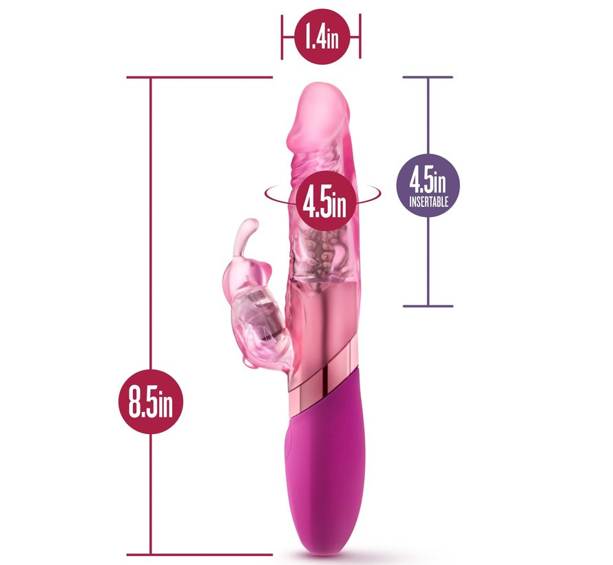 Sexy Things Rechargeable Mini Rabbit Pink
