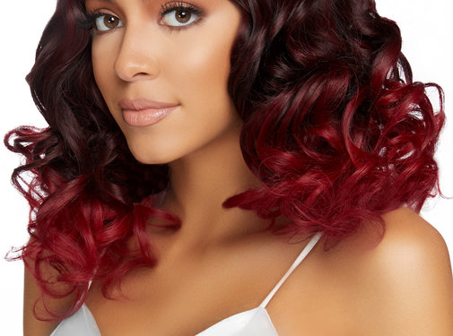 "Leg Avenue 18"" Curly Ombre Long Bob Wig"