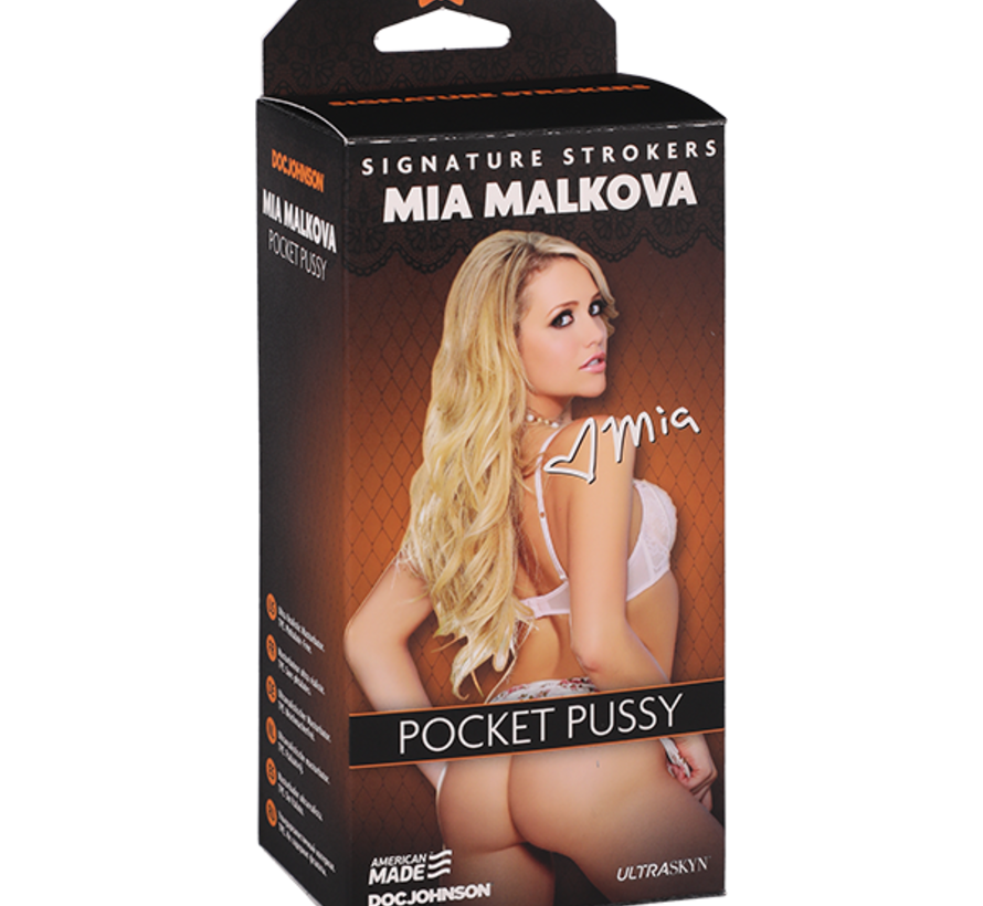 Signature Strokers - Mia Malkova  Pocket Pussy
