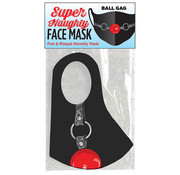 Super Naughty Ball Gag Mask