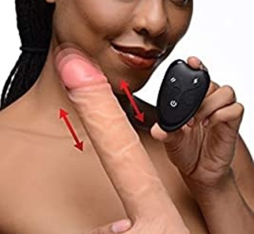 7X Thrusting Dildo with Remote Control