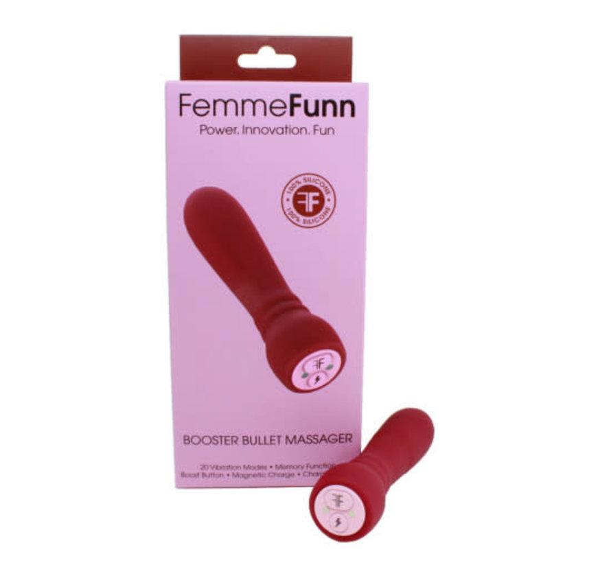 Femme Fun Booster Bullet Maroon