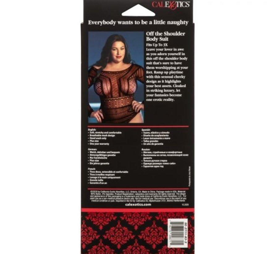 Scandal Off The Shoulder Body Suit 3x