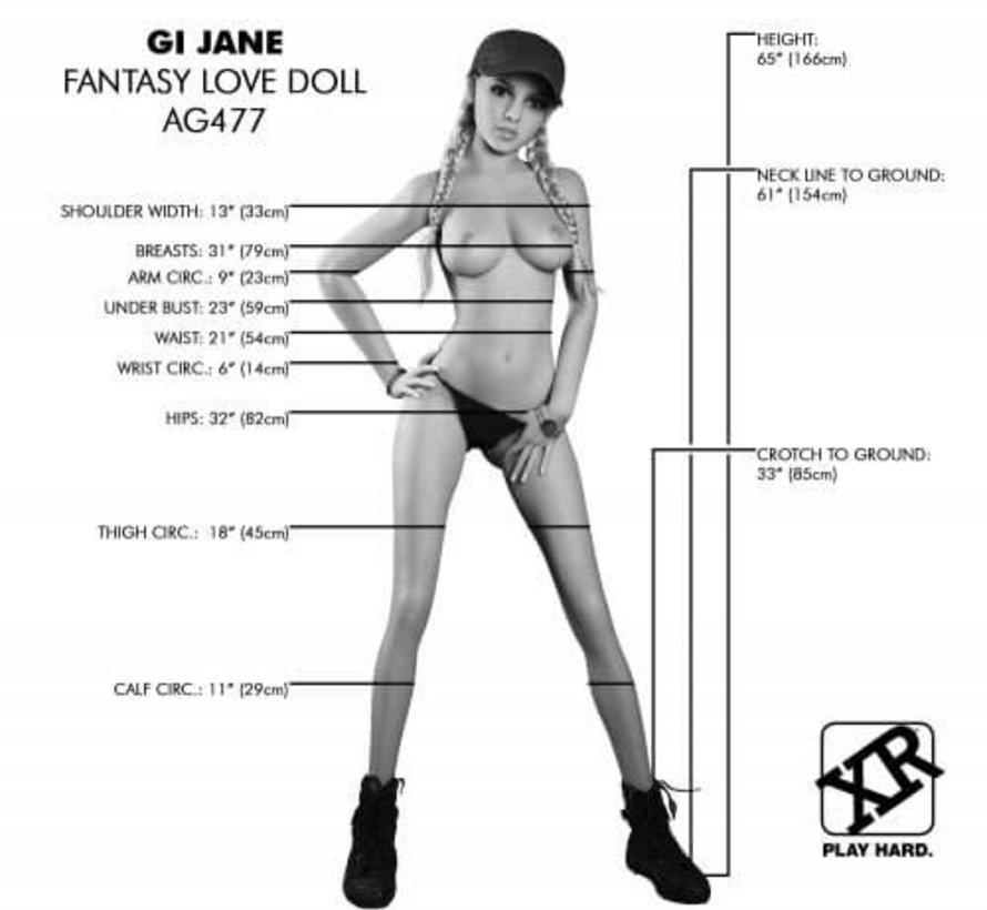 GI Jane Fantasy Love Doll