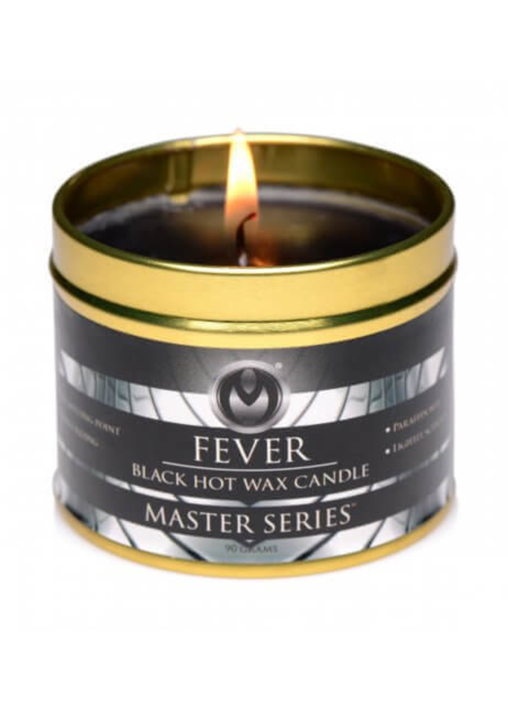 Fever Hot Wax Candle - Black
