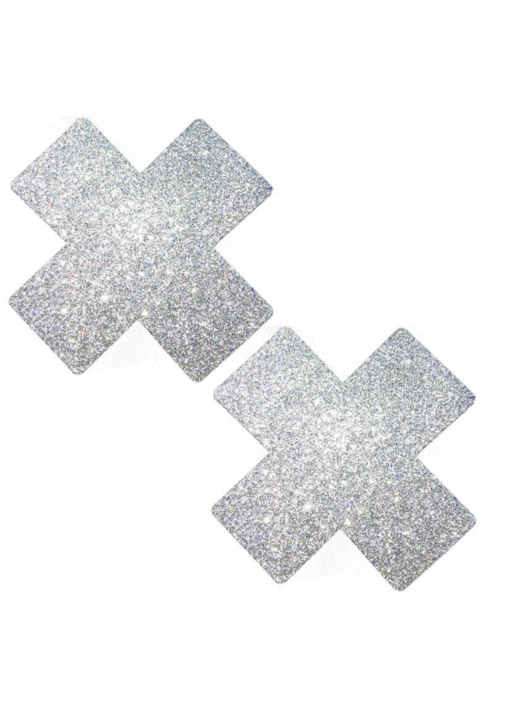 NEVA NUDE Nipztix X-Factor Silver Pixie Dust-Silver Glitter