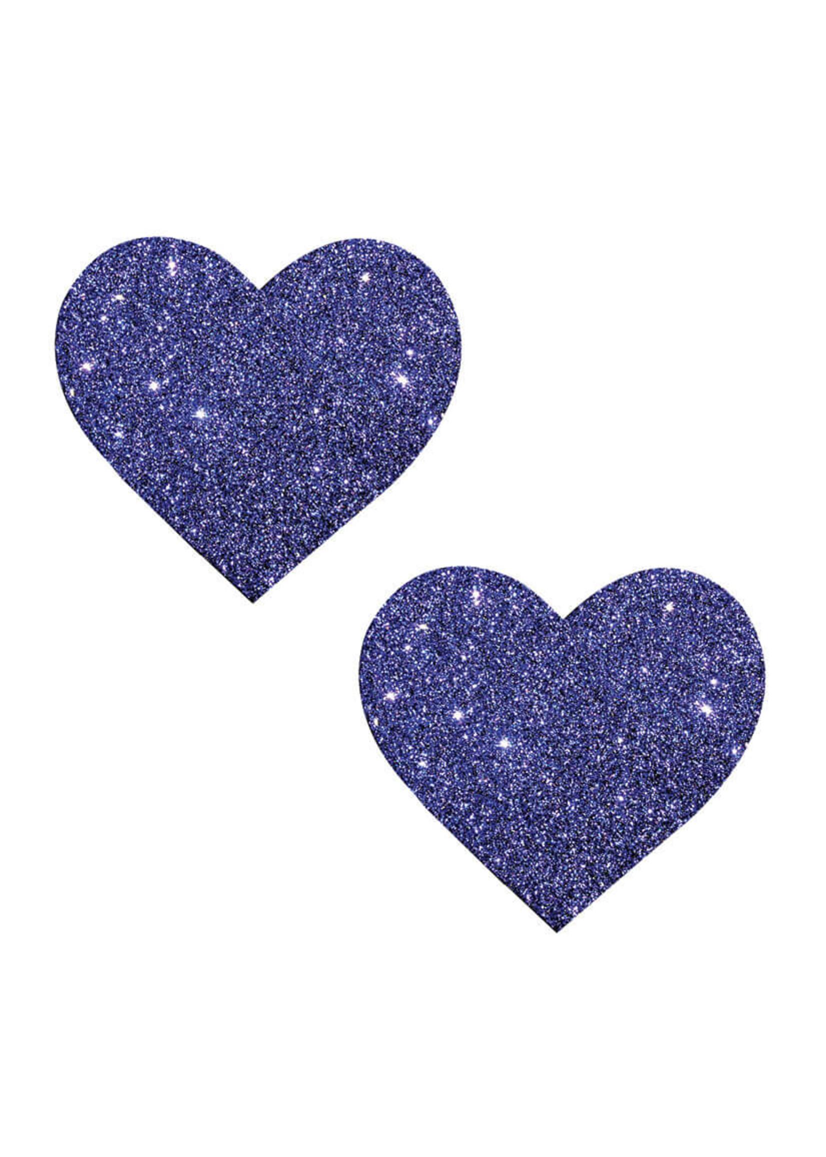 NEVA NUDE Nipztix Heart Purple Rain-Purple Glitter