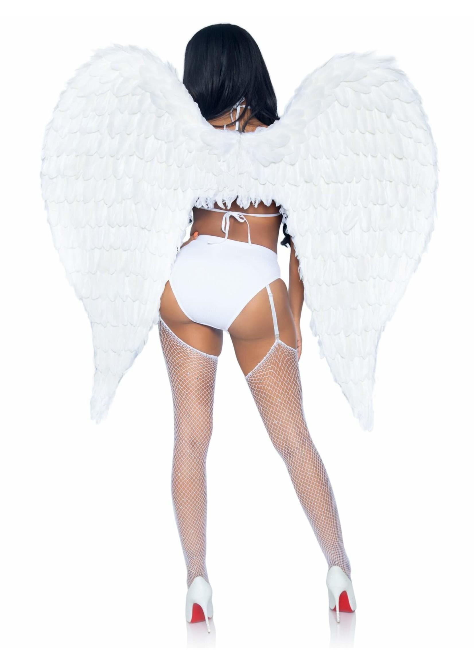 "Leg Avenue 43"" Deluxe Feather Wings"