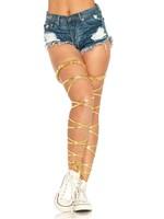 Sara Lamé Garter Leg Wraps