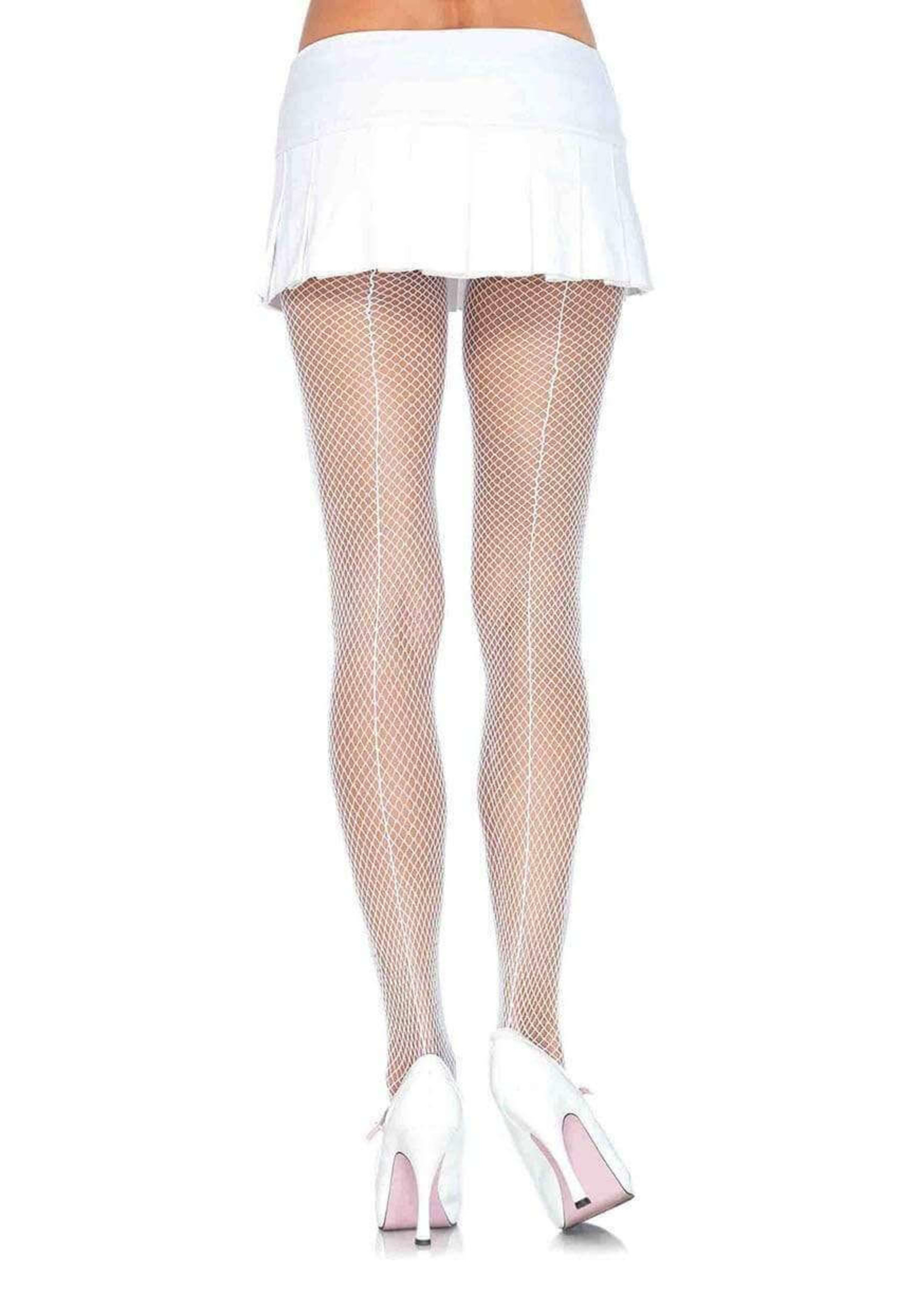 Callie Fishnet Tights with Backseam