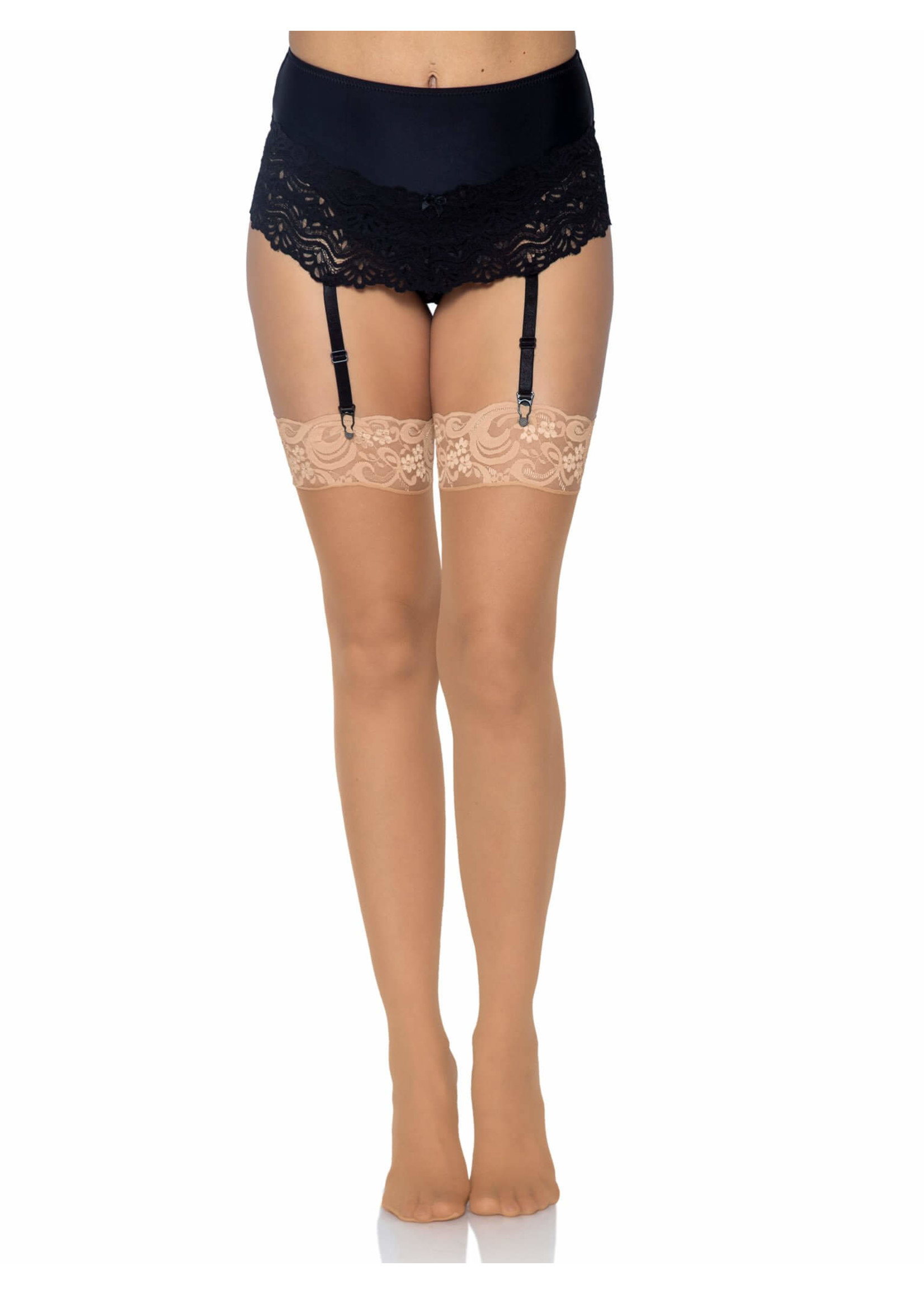 Leg Avenue Alix Sheer Thigh High Stockings