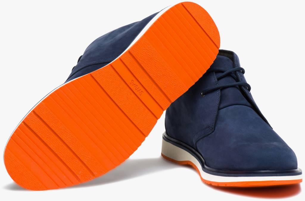 Swims Swims Barry Chukka Classic Navy/Orange Boot
