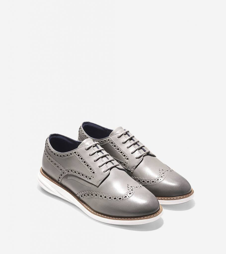 Cole Haan Cole Haan GrandEvolution Wingtip Oxford Ironstone/Ivory Casual Shoe