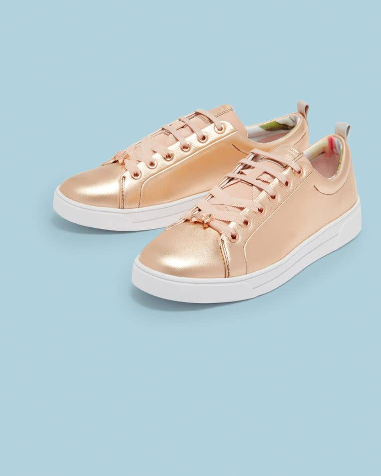 Ted Baker Ted Baker Kellei Rose Gold Casual Shoe