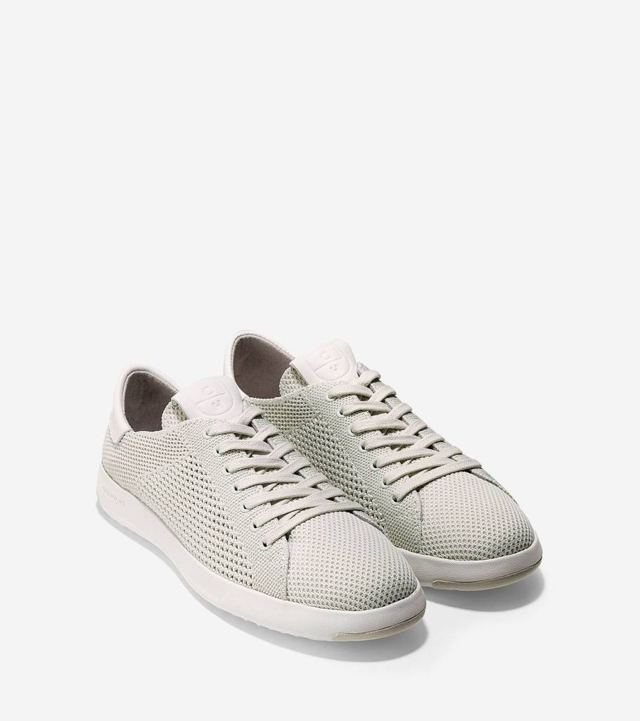 Cole Haan Cole Haan Grandpro Tennis with Stitchlite Chalk Knit Casual Shoe