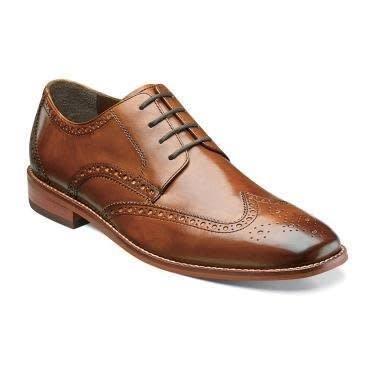 Florsheim FLorsheim Castellano WGOX Saddle Tan Dress Shoe