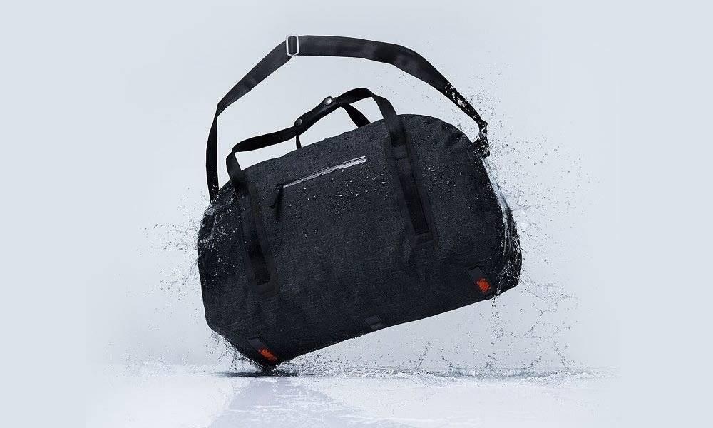Swims Swims Charcoal Duffel Bag