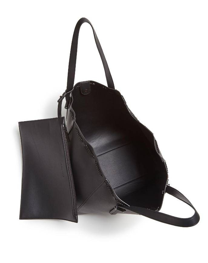 Kendall + Kylie Kendall and Kylie Black Izzy Chain Tote