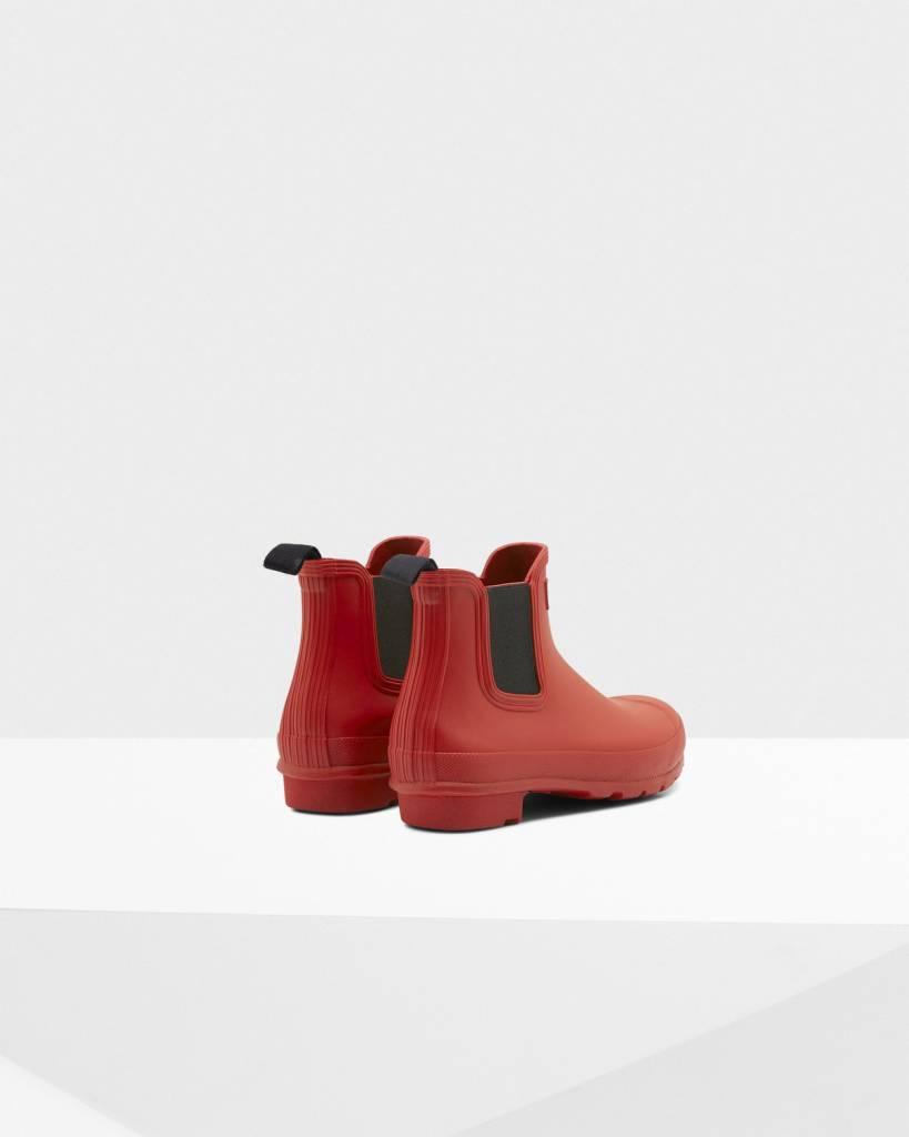 Hunter Hunter Original Chelsea Red Boot