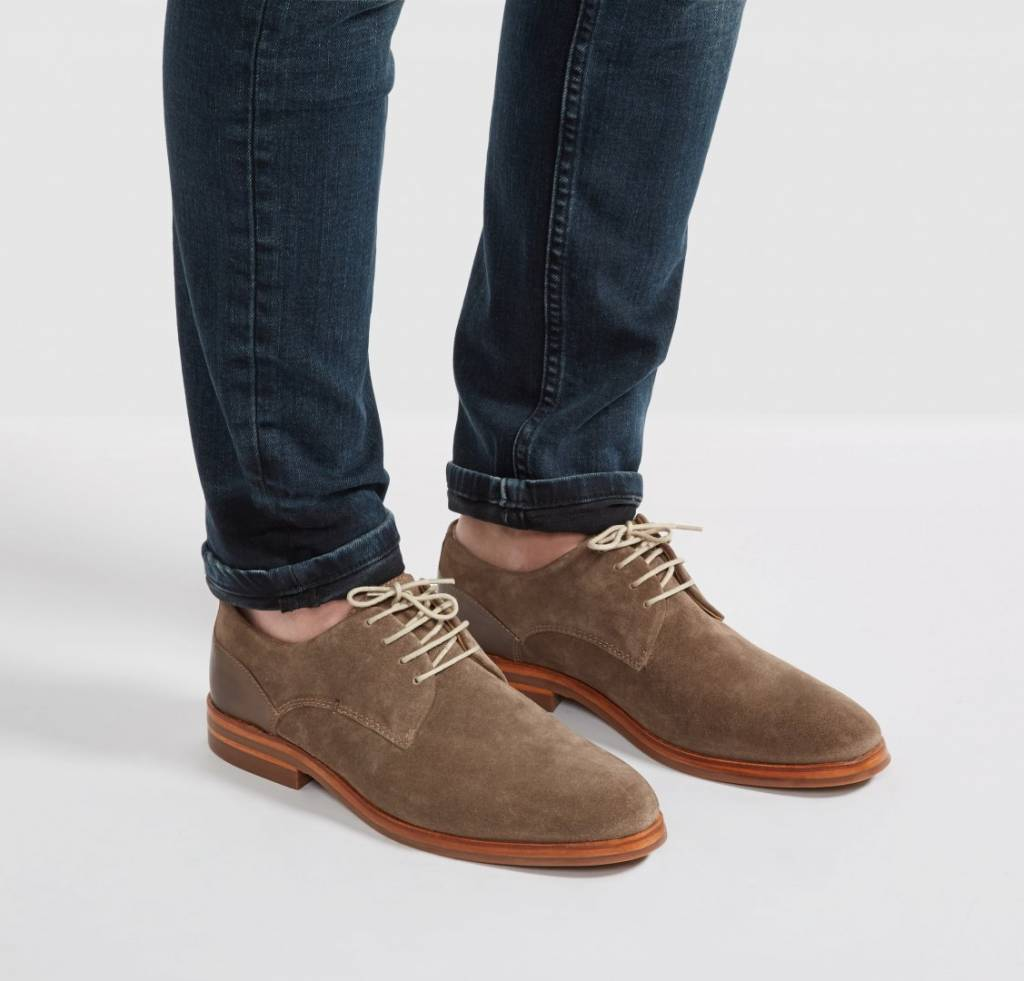 Hudson Of London Hudson of London Enrico Taupe Dress Shoe