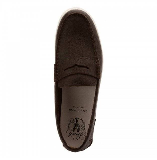 Cole Haan Cole Haan Pinch Weekender Java Leather/White Loafer